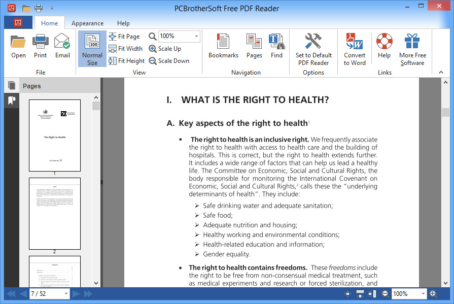 pdf reader free download for windows 10